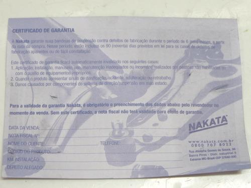 par bandeja suspenção dianteira parati +1993 nakata nbj1003