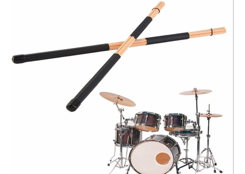 par baquetas rute 40cm hot rods jazz excelente calidad nueva
