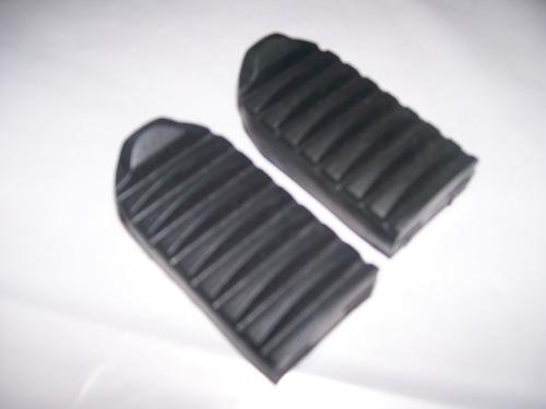 par borracha pedaleira dianteiras (2 peças) honda sahara 350