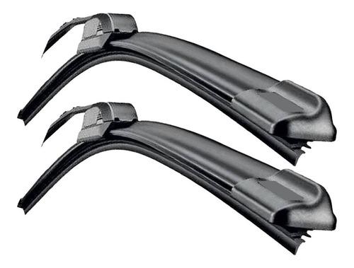 par braço limpador para-brisa tipo tempra + palheta silicone