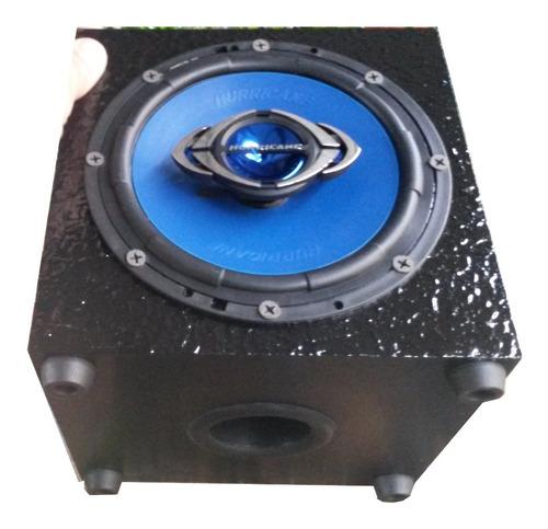 par caixa caixinha de som passiva alto falante 6  130w rms