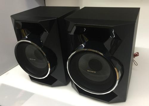 par caixa som sony mhc-gpx33 modelo - ss-gpx33 nova original