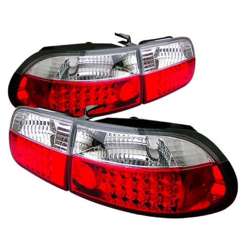 par - calaveras led honda civic hatchback 3p 1992 1993
