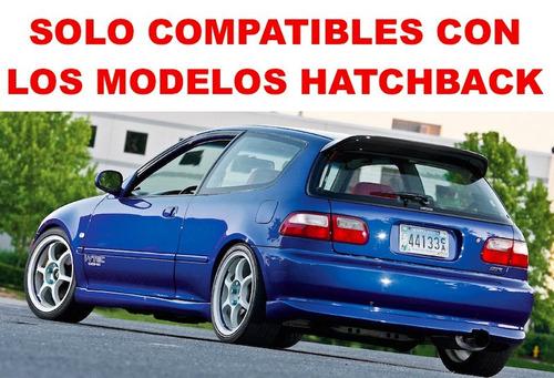 par - calaveras led honda civic hatchback 3p 1992 1993