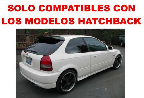 par - calaveras led honda civic hatchback 3p 1999 2000