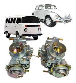 Par Carburador Kombi Duplo Fusca H32/34 Pdsi  Gasolina