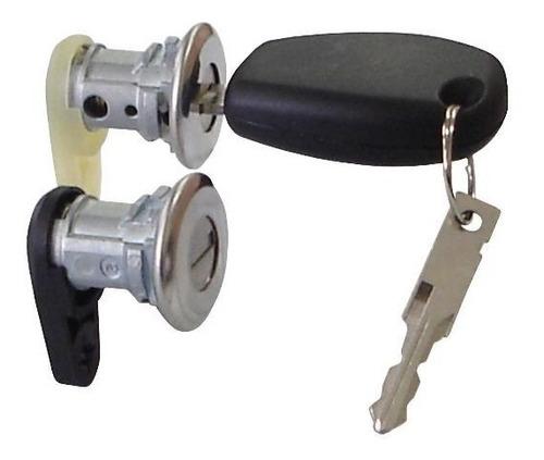 par conjunto de cilindros das portas ld e le  chaves logan