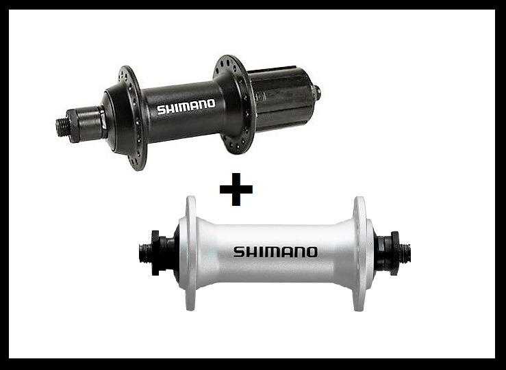 Par Cubo Shimano Alivio V-brake 36f Fh-m430 Deore/slx)