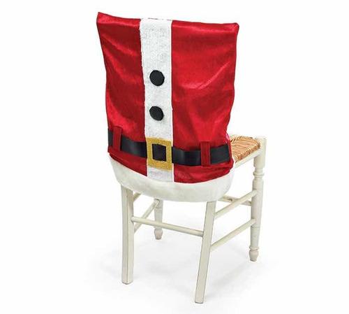par cubresillas navideñas cinto santa