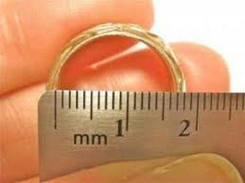 par de aliança prata legítima coração vazado 5mm