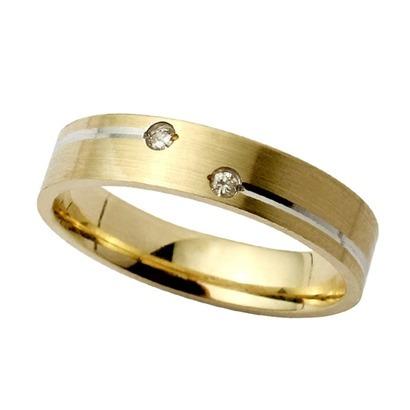 par de alianças  bodas de prata 8gr 4mm ouro 18k