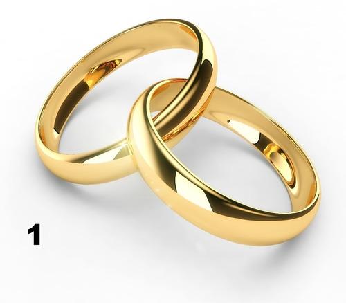par de alianças ,de moedas antigas, cor ouro