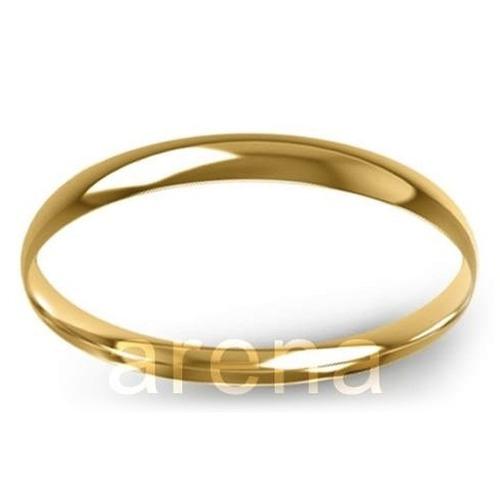 par de alianças de ouro 2 mm 4 gramas 18k, frete grátis!