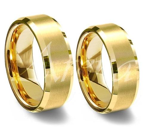 par de alianças em ouro 18k 6 gramas 5mm frete grátis