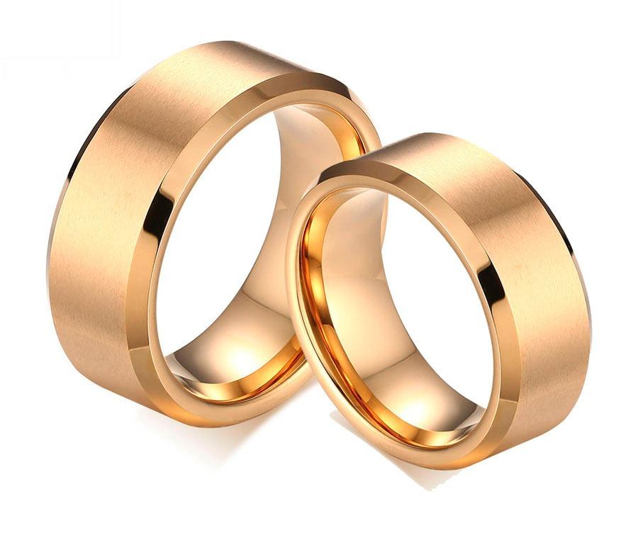 beea364d796 par de alianças noivado casamento banhada a ouro 18k. Carregando zoom.