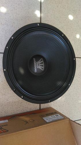 par de alto falante oversound steel 15 400  frete gratis 15