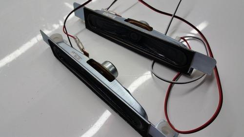 par de alto falantes tv led sti le4057i semi novo