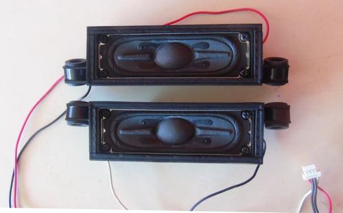 par de alto falantes tv sony kdl-32ex555