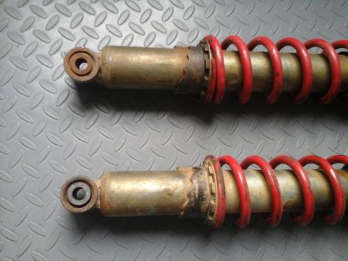 par de amortiguadores delanteros honda trx 300 ex  año 2000
