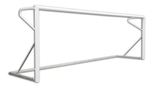 par de arcos de fútbol de acero moviles 4x2