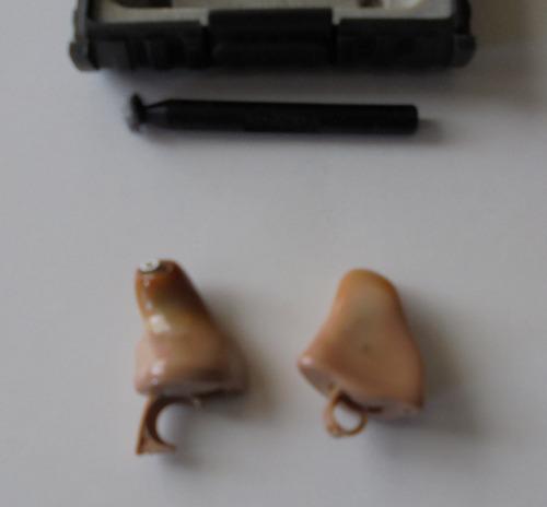 par de audìfonos ortopèdicos digital oticon ergo a batería
