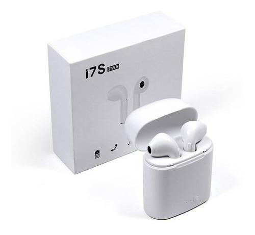par de audífonos bluetooth i7s tws inalámbricos | maxtech