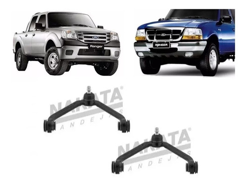par de bandeja superior ford ranger 1997 a 2011 - nakata