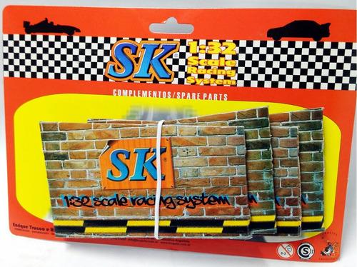 par de bases para puente de carton scalextric 1/32 sk 97030c