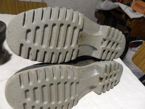 par de botas de goma pampero 1/2 caña