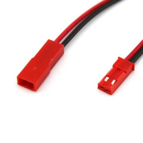 par de cables hembra macho conector jst rc cdmx electrónica