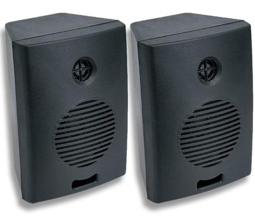 par de caixas acústicas som ambiente 70w rms preta ou branca