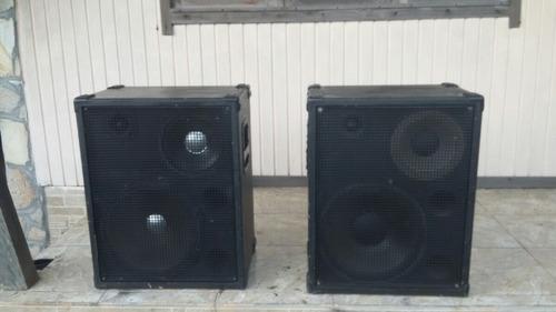 par de caixas de som staner upper 200f barbada