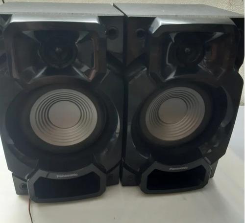 par de caixas mini system panasonic modelo sa-akx220