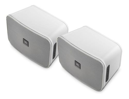 par de caixas som jbl control x piscina branca  original