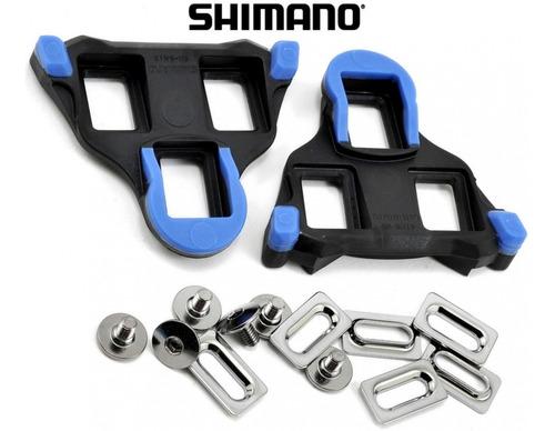 par de calas shimano sm-sh12 - ruta - spd sl compatibles