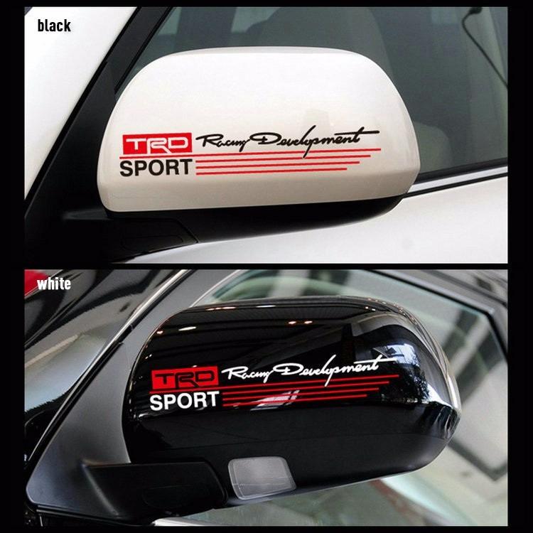 Par De Calcomanias Retrovisor Trd Sport Audi Trd Toyota