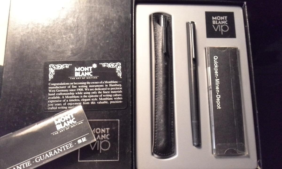 e6263c857d2 par de canetas montblanc vip no estojo original. Carregando zoom.
