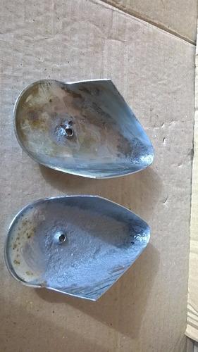 par de capa lanterna dianteira pisca fusca ferro