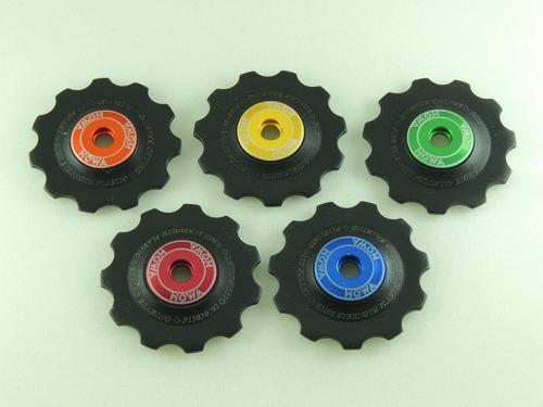 par de carretillas(pulleys) marca mowa