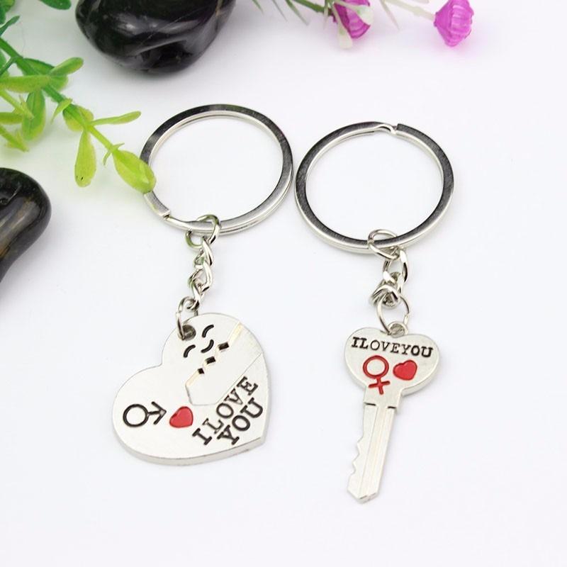 par de chaveiros p  casal, coração com chave, lindo presente. Carregando  zoom. 1f66d4af9c