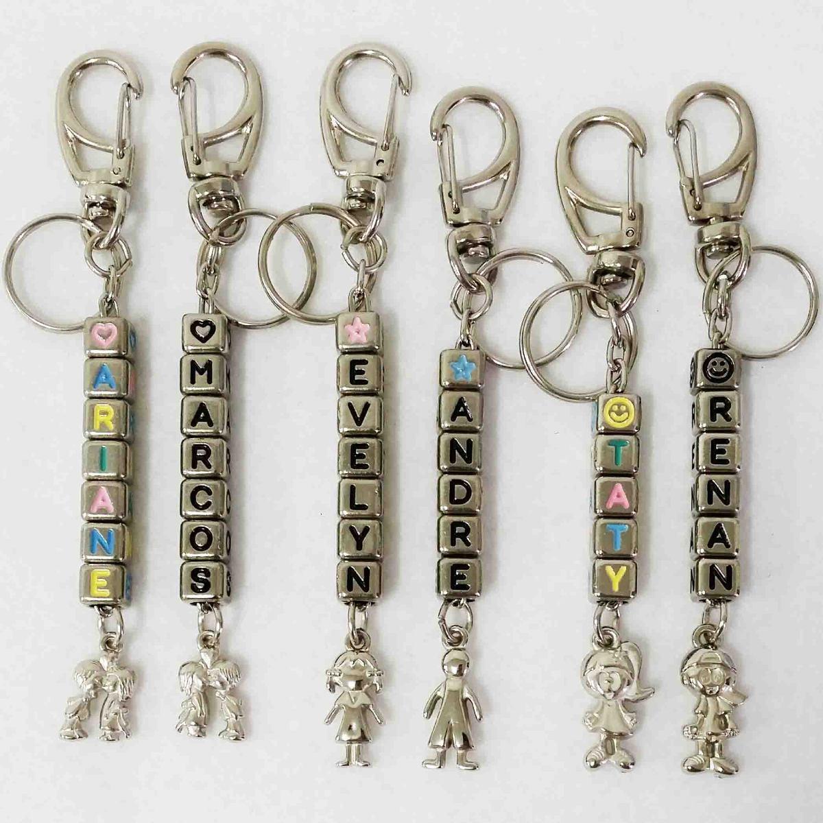 5e5a05fe4724a par de chaveiros personalizados nomes casal noivos namorados. Carregando  zoom.