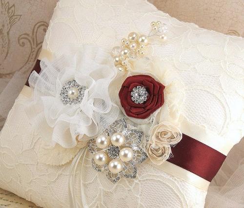 par de cojines boda almoadas para inclinarse envío gratis