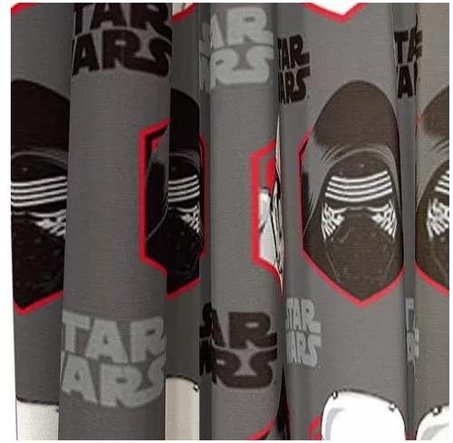 par de cortinas para habitacion star wars ep 7 rule galaxy