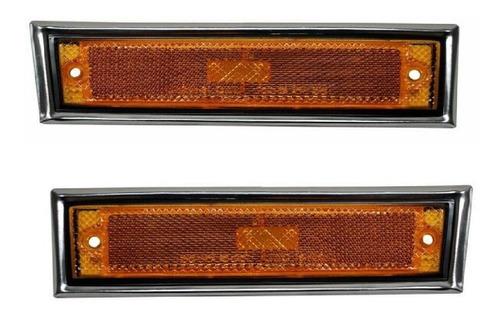 par de cuartos lateral chevrolet cheyenne1985-1986 cromo rld