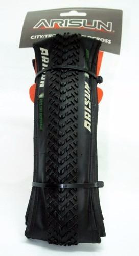 par de cubierta arisun dual-action 700x33 kevlar  ciclocross