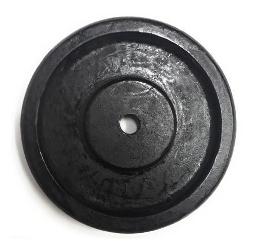 par de disco de metal de 5 kg (11.02 lb) entrada 1 pulgada