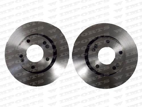 par de discos de freio tucson 2.4\ fwd a partir de 2005