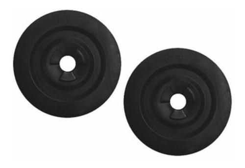 par de discos para pesas 4kg c/u