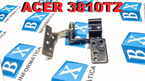 par de dobradiças do lcd acer 3810tz
