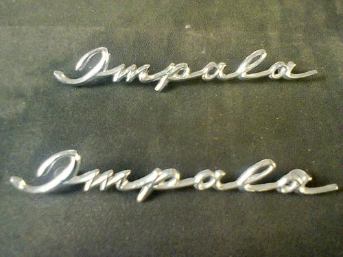 par de emblemas para impala